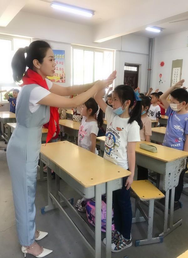 寿县 实验小学开展队前教育活动