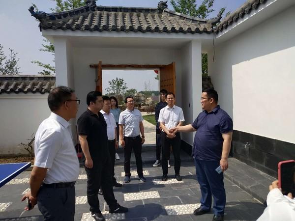 中国青年创业就业基金会来 寿县调研考察