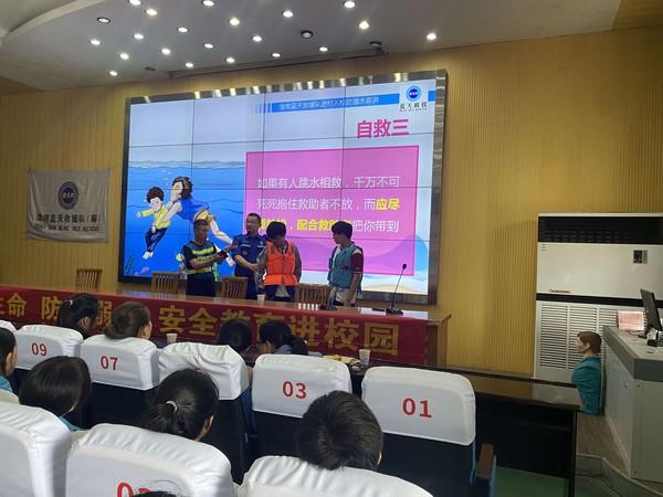 寿县 团县委防溺水自护教育宣讲走进安丰高中