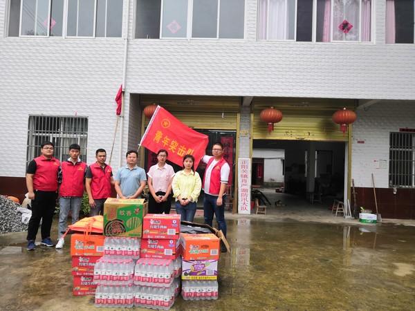 团县委 赴正阳关镇、迎河镇开展防汛志愿服务活动